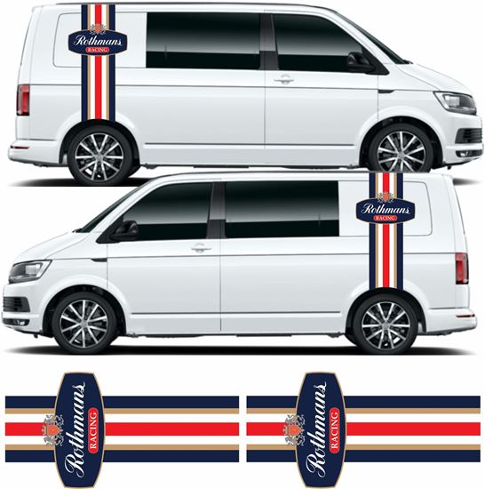 Picture of VW T5 / T6 Rothams Racing Stripes / Stickers