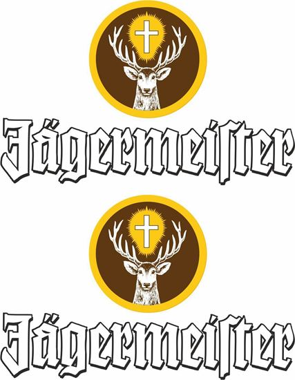 Picture of Jagermeister Decals / Stickers