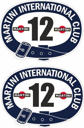 Picture of Martini Door Numbers
