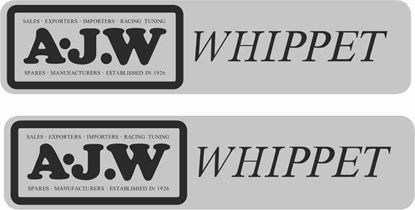 Picture of A.J.W Whippet Decals / Stickers