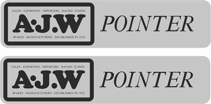 Picture of A.J.W Pointer Decals / Stickers