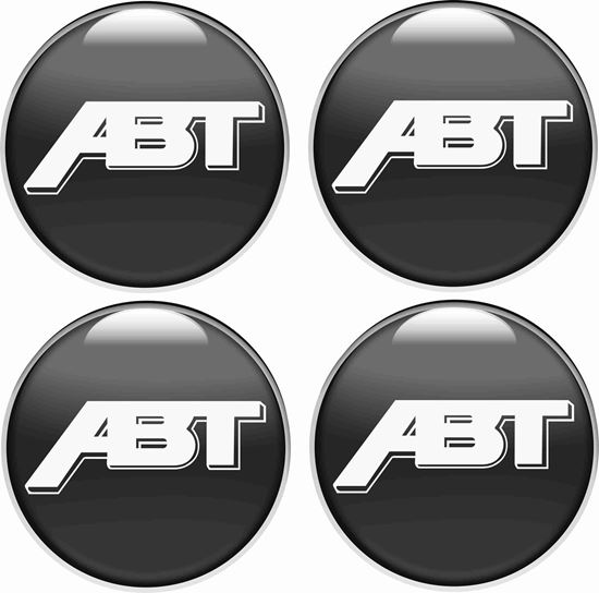 Picture of ABT Wheel centre Gel Badges