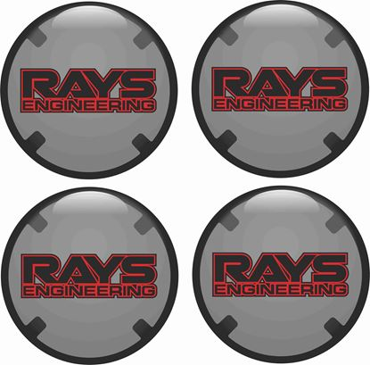 Picture of RAYS Wheel centre Gel Badges