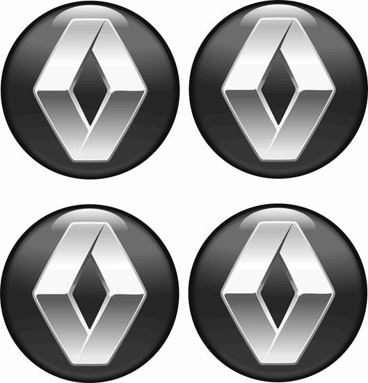 Picture of Renault Wheel centre Gel Badges