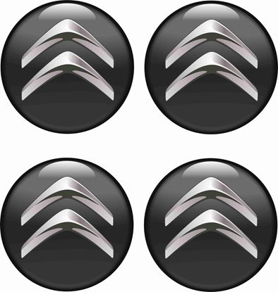 Picture of Citroen Wheel centre Gel Badges