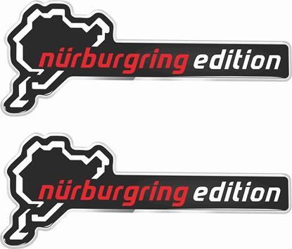 Picture of Nurburgring Edition 100mm Exterior Gel Badges