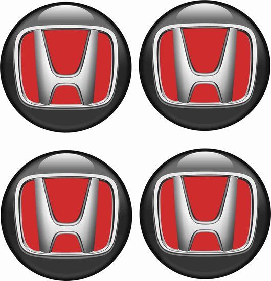 Picture of Honda Wheel centre Gel Badges