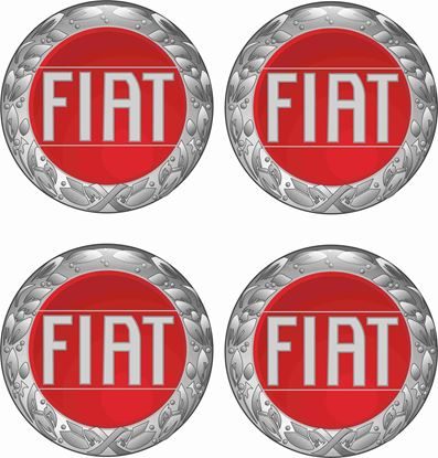 Picture of Fiat Wheel centre Gel Badges