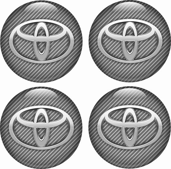 Picture of Toyota Wheel centre Gel Badges