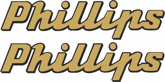 Picture of Phillips Motorcycle Decals / Stickers