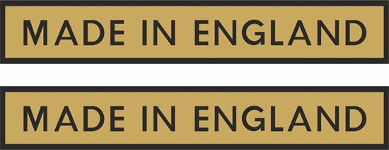 """Picture of """"Made in England"""" Decals / Stickers"""