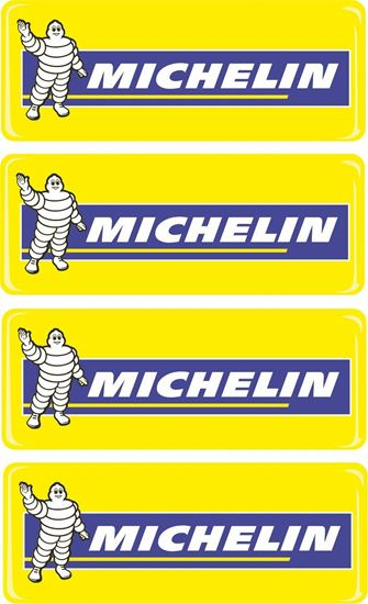 Picture of Michelin Adhesive gel Badges