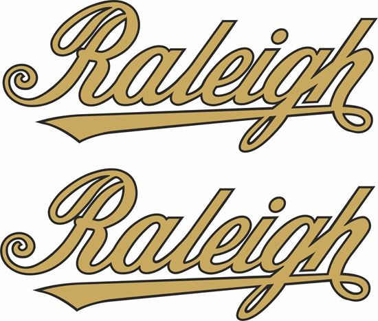 Picture of Raleigh Motorcycle Decals / Stickers