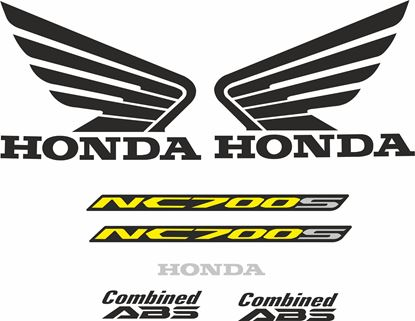 Picture of Honda NC700S 2012 - 2013 replacement Decals / Stickers