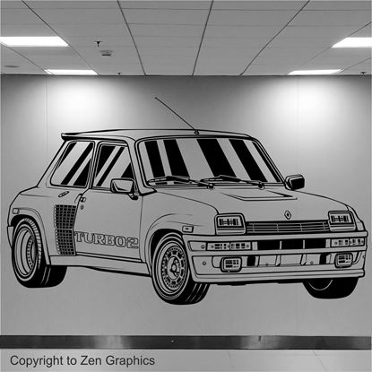 Picture of Renault 5 Turbo 2 Wall Art sticker