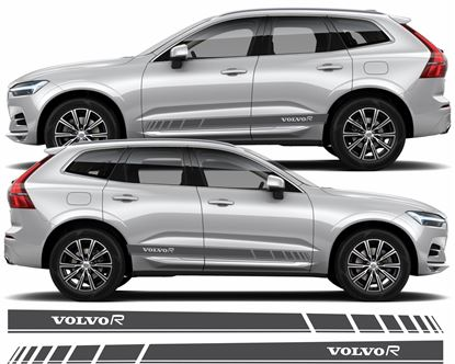 Picture of Volvo XC60 R Design side Stripes / Decals / Stickers