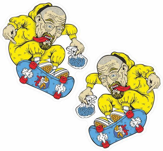 Picture of Breaking Bad Skateboard Decals / Stickers