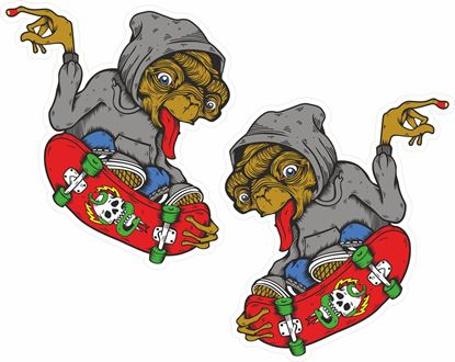 Picture of E.T. Skateboard Decals / Stickers