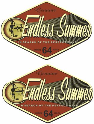 Picture of Endless Summer Decals / Stickers