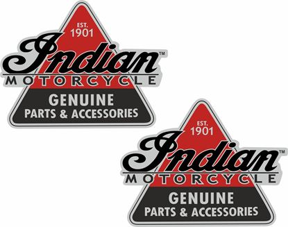 Picture of Indian Motorcycle Genuine Parts Decals / Stickers