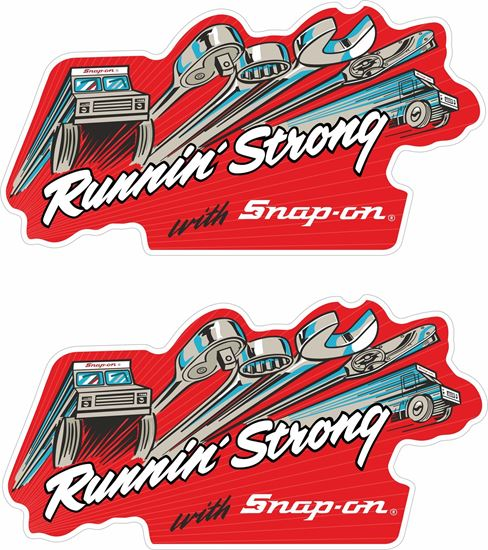 """Picture of """"Snap-on"""" Decals / Stickers"""