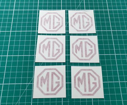 Picture of MG replacement  wheel Centre Cap Decals / Sticker