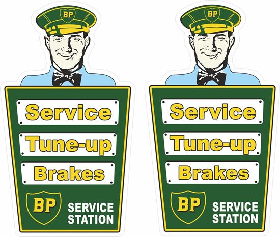 Picture of BP Service... Decals / Stickers