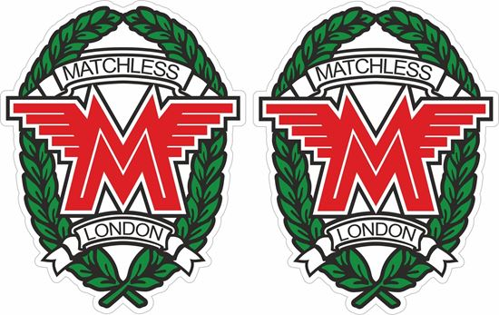 Picture of Matchless Motorcycle Decals / Stickers