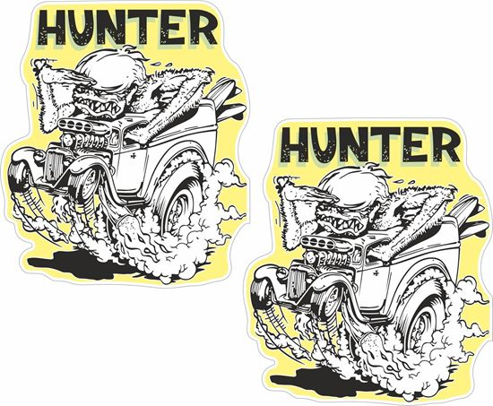 Picture of Hunter general panel  Decals / Stickers