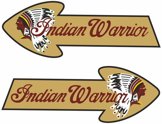 Picture of Indian Warrior Tank /  Panel Decals / Stickers