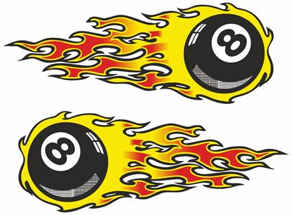 Picture of 8 Ball general panel  Decals / Stickers