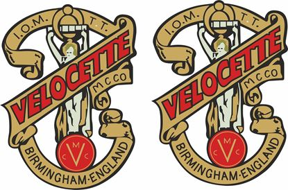Picture of Velocette Motorcycle Decals / Stickers