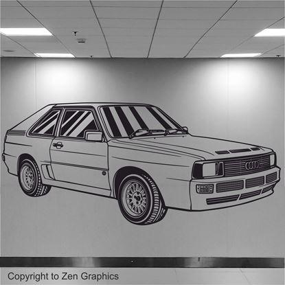 Picture of Audi Sport Quattro Wall Art sticker