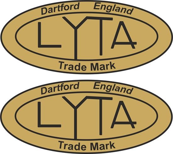 Picture of Lyta Motorcycle Decals / Stickers
