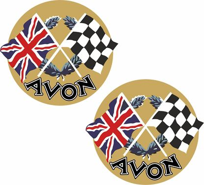 Picture of Avon Motorcycle Decals / Stickers