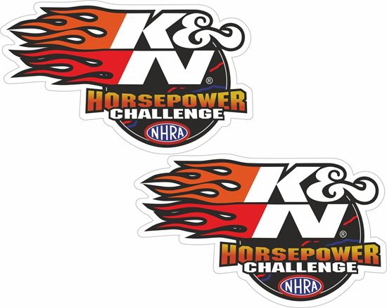 "Picture of ""K&N"" Decals / Stickers"