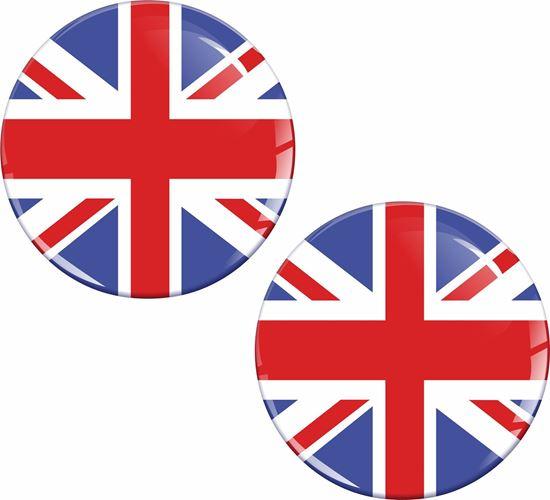 Picture of UK 50mm Exterior Gel Badges