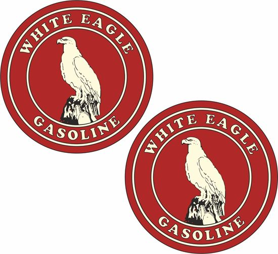 Picture of White Eagle Gasoline Decals / Stickers