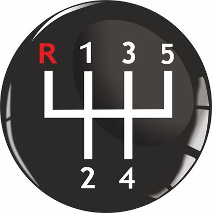 Picture of Gear Shift  Gel Badge
