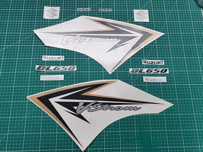 Picture of Suzuki DL650 V-Strom Replacement fairing Decals Sticker Graphics