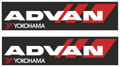 "Picture of ""Advan Yokohama"" Decals / Stickers"