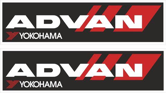 "Picture of ""Advan Yokohama"" Decals / Stickers"