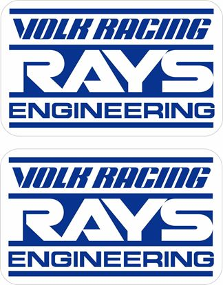 Picture of Volk Racing Decals / Stickers