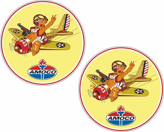 Picture of Amoco Decals / Stickers
