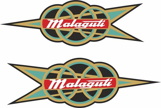 Picture of Malaguti Motorcycle Decals / Stickers