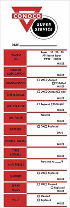 Picture of Conoco Classic Service / Maintenance Stickers