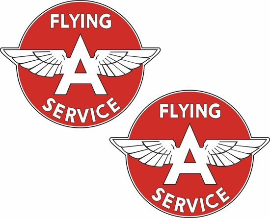 Picture of Flying A Service Decals / Stickers