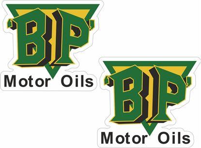 Picture of BP Motor Spirit Decals / Stickers
