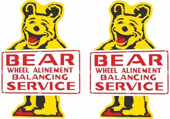 Picture of Bear Service Decals / Stickers