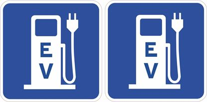 Picture of Electric Vehicle Decals / Stickers